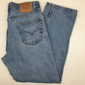 Levi's Jeans - Vintage Levis 505 Size 35 x 30 Red Tab Made in USA